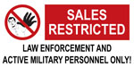 restricted sales 2